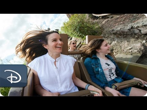 Tina Fey Conquers Expedition Everest at Walt Disney World Resort