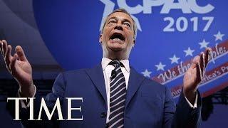 Nigel Farage Links Brexit To President Trump