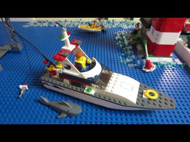 Lego City 4642 Fishing Boat Review