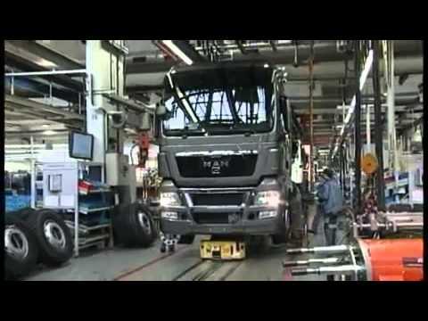 Завод MAN в Мюнхене (видео)
