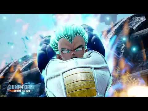 Super Saiyan Blue Goku, Vegeta & Golden Freezer Gameplay Trailer de Jump Force
