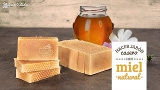 Cómo hacer jabón casero con Miel natural