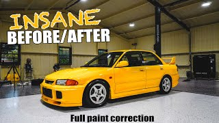 EVO III gets an INSANE Paint Correction! (CRAZY BEFORE & AFTER) by Evan Shanks