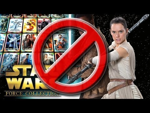 THE END OF STAR WARS FORCE COLLECTION!!!