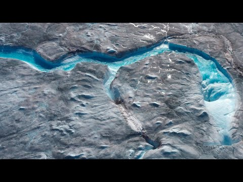 Greenland's ice caps are melting seven times faster than in 90s