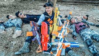 LTT Nerf War : Squad SEAL X Warriors Nerf Guns Fight Criminal Group Dr Mundo Dangerous Gangster