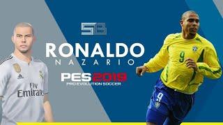 ronaldo brazil pes 2019 mobile - TH-Clip