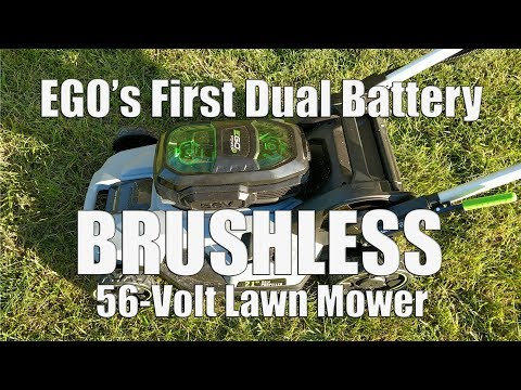 NEW Dual Battery EGO 21″ Mower Review | 56-Volt Self Propelled Mower w/ TWO 5.0Ah Batteries LM2142SP