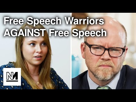 Toby Young's Free Speech Union AGAINST Free Speech