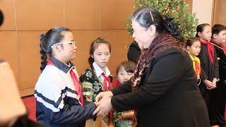 Phó Chủ tịch Thường trực Quốc hội Tòng Thị Phóng gặp mặt Hội Bảo vệ quyền trẻ em Việt Nam