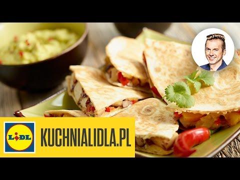 Tortilla z kurczakiem i guacamole – Karol Okrasa – Przepisy Kuchni Lidla
