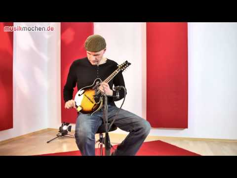 RMF90TS F-Style Mandolin review!(German language)