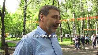 В Новокузнецке возродили сквер Первостроителей
