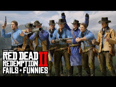 Red Dead Redemption 2 - Fails & Funnies #101