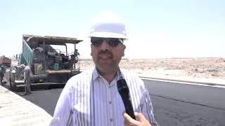 الياسري أكتمال الشوارع المتطورة في النجف الاشرف ومنها شارع ابو الفضل العباس