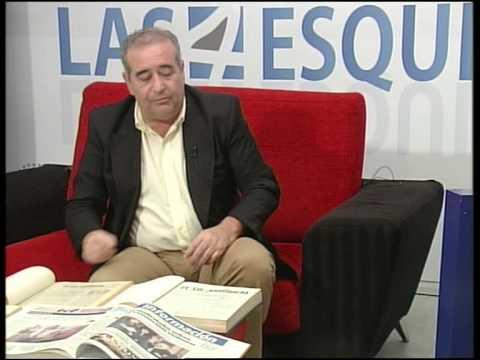 Miguel González, coleccionista de periódicos de Antequera