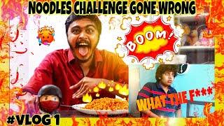 World\'s Spiciest Noodles | Noodles Challenge Gone Wrong | Hari Baskar | Ft.Irfan\'s View