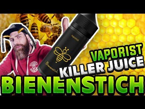 YouTube Video zu Vaporist Bienenstich ShortFill Liquid 100 ml