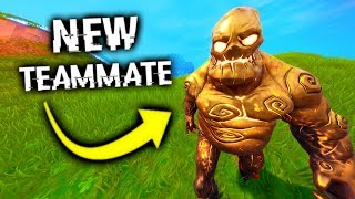 Turning A Fortnite Zombie FRIENDLY?
