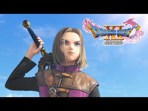Our First Good Look At Dragon Quest XI