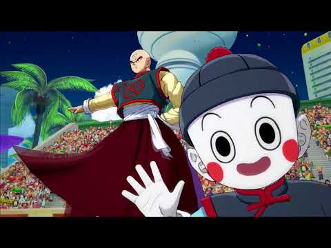 Dragon Ball FighterZ  - Yamcha and Tenshinhan reviennent en mouvement de Dragon Ball FighterZ