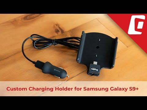 Play Video: Charging Holder with USB Cigarette Lighter Plug