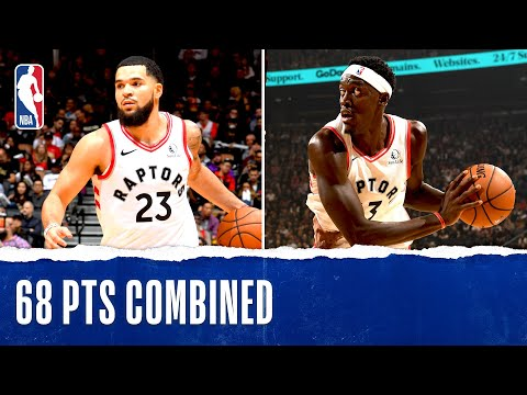 Siakam and VanVleet Combine For 68 In Season Opener | Oct. 22, 2019