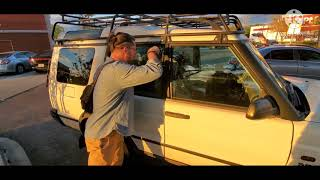 HOW TO UNLOCK A LAND ROVER DISCOVERY