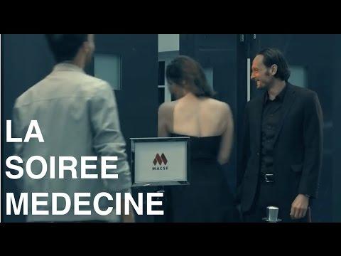 """Publicité MACSF Rôle du Physio """"La soirée médecine"""""""