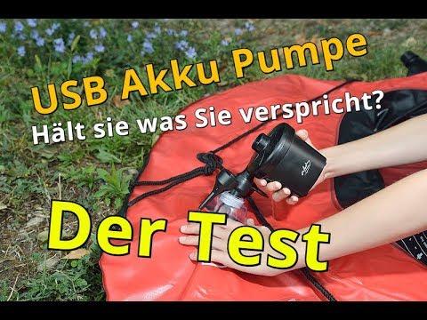 Die Akku Luftpumpe I Vorstellung I Test I Erklärung I Autark I
