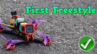 First Flight to Freestyle - Fpv Drone İlk Freestyle