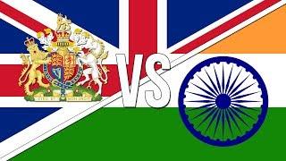 🇬🇧 British National Anthem vs. 🇮🇳 Indian National Anthem!