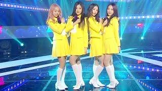 《CUTE》 LOOΠΔ 1/3 (이달의 소녀 1/3) - Love&Live (지금, 좋아해) @인기가요 Inkigayo 20170402