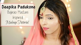 Image for video on Deepika Padukone 'Bajirao Mastani' Inspired Makeup Tutorial by Hina Attar