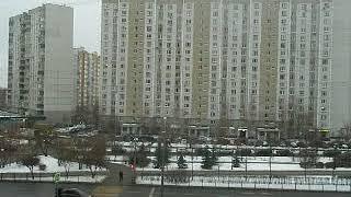 Москва. Митино. Улица Митинская. 05.12.2018.