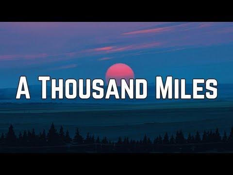 Vanessa Carlton - A Thousand Miles (Lyrics)