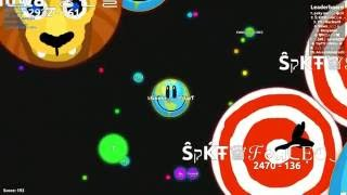 Agar.io:stealing ghost name:๖ۣۜǤнσsτ༻一☢ ƬψƬ