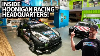 Ken Block's 914hp Ford F-150 Hoonitruck AND Hoonigan Racing HQ Tour: Inside Look With Neil Cole!