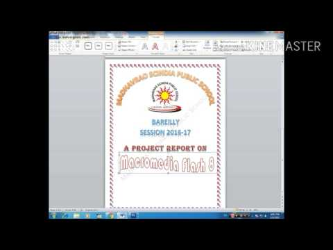 Download how to make front page in microsoft word 2007 23gp mp4