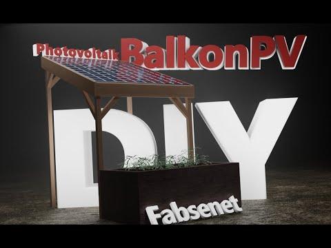 Strom selbst erzeugen // Balkon PV Anlage DIY // Balkonkraftwerk