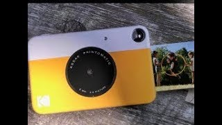 Kodak Printomatic Instant Print Camera First look & review