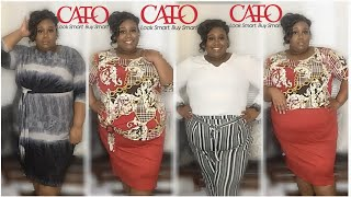CATOS PLUS SIZE TRY ON HAUL 2020 | Business Casual Attire | Plus Size Office Wear 👗👠💼
