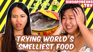 Singaporeans Try: World's Smelliest Food