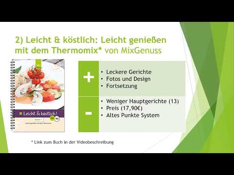 ➤Top 3 Thermomix Weight Watchers Rezepte [Kochbücher]