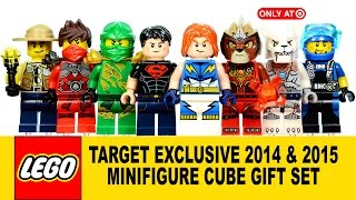 LEGO Minifigure Cube Set 2014 & 2015 Target Exclusive 5004076 -77 w/ Superboy & Lightning Lad