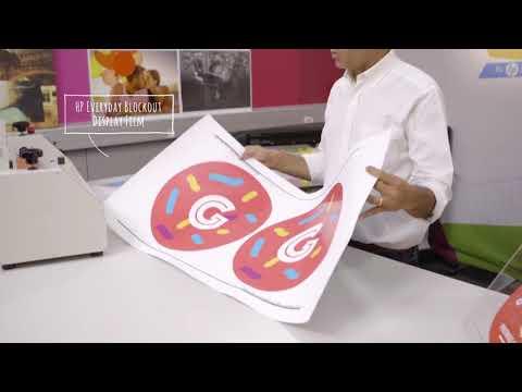 Studio ứng dụng từ HP latex Window Graphics