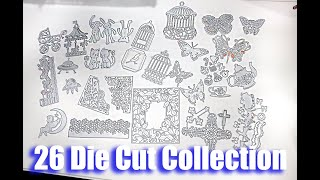 My Die Cut Collection Part 1 - Testing Cutting Dies - Review - How To Store Die Cuts