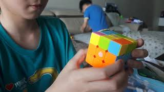 Can Jay-Chen team solve the 3x3 Rubik's Cube? And who is getting shot at the end? ルービックキューブ