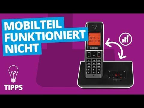 Mobilteil funktioniert nicht (DECT) | MEDION Tipps