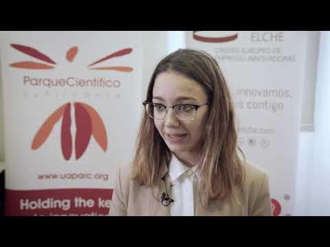 Laura Navarro de Bioithas en el HUB de Innovación Abierta[;;;][;;;]